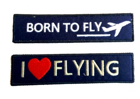 Pilot embroidery keychain (1)