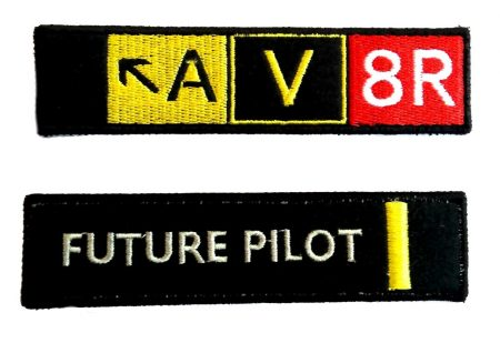 Pilot embroidery keychain (11)
