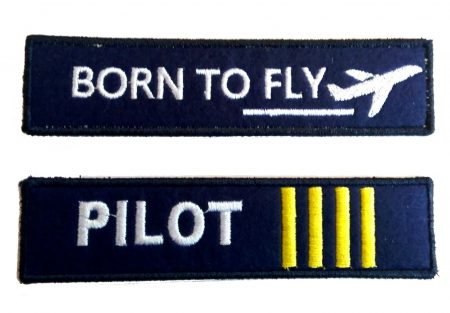 Pilot embroidery keychain (2)