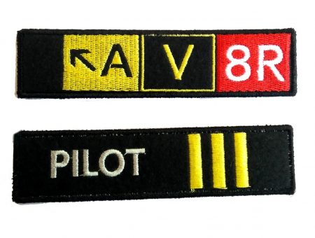 Pilot embroidery keychain (7)