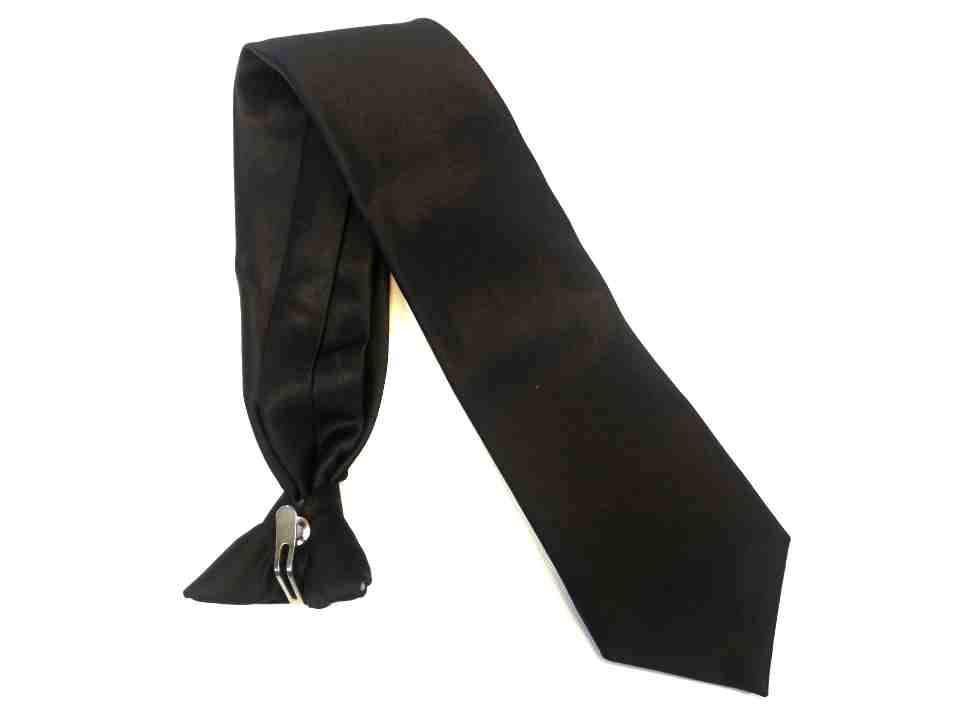 ac2987546d26 Clip-on premium ready to wear Tie for pilot uniform
